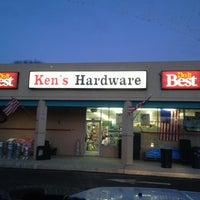 Photo taken at Ken's Hardware by Tom H. on 1/18/2014