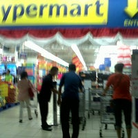 Photo taken at Hypermart Kelapa Gading by Andri Y. on 8/16/2013