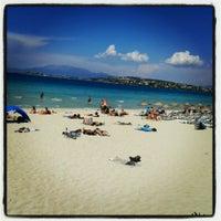 Photo taken at Ilıca Plajı by Vedat B. on 6/6/2013