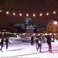 Photo taken at Kungsträdgården by Joana M. on 1/17/2013