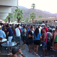 Photo taken at Hunter's Palm Springs by MyDirtyJock .. on 11/5/2012