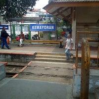 Photo taken at Stasiun Kemayoran by William M. on 11/6/2013