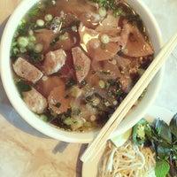 Photo taken at Bambu Vietnamese Restaurant by Joe C. on 1/7/2014