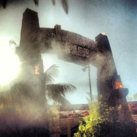 Photo taken at Jurassic Park The Ride by Todd S. on 4/22/2013