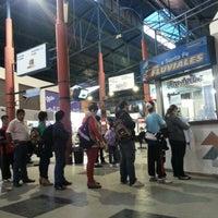 Photo taken at Terminal de ómnibus de Paraná by Horacio P. on 7/11/2013