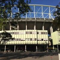 Photo taken at Ernst-Happel-Stadion by Ronny L. on 9/10/2013