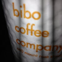 Photo taken at Bibo Coffee Co. by Donald H. on 10/13/2012