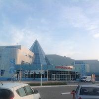 Photo taken at Khanty-Mansiysk International Airport (HMA) by Alexander L. on 7/19/2013