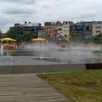 Photo taken at Park Spoor Noord by Steegmans W. on 7/28/2013