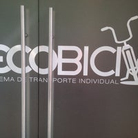 Photo taken at Ecobici 85 by Ricardo S. on 4/5/2014