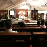 Photo taken at Gereja Katolik Santo Andreas by Albertus G. on 3/30/2013
