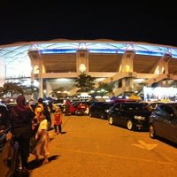Photo taken at Stadium Nasional Bukit Jalil by ndy b. on 6/1/2013