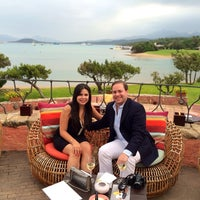 Photo taken at Hotel Cala di Volpe, Costa Smeralda by Angelique S. on 7/4/2014