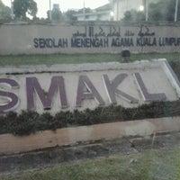 Photo taken at Sekolah Menengah Kebangsaan Agama Kuala Lumpur by Rasyad A. on 6/6/2014