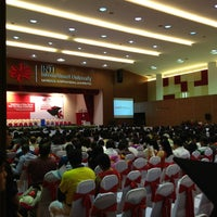 Photo taken at INTI-IU Multi Purpose Hall (MPH) by Henry L. on 7/3/2013