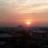 Photo taken at Rama III Bridge by por j. on 1/4/2013