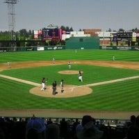Photo taken at Cheney Stadium by Larry M. on 9/4/2011
