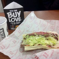 Photo taken at Jimmy John's by Erin H. on 11/8/2011