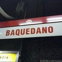 Photo taken at Metro Baquedano by Anita on 7/7/2012