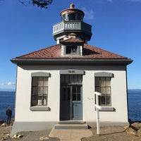Photo taken at Lime Kiln Point State Park by Eric R. on 9/27/2015