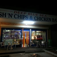 Photo taken at Deep Blue Sea Fish & Chips & Chicken Bar by Lineker M. on 5/26/2013