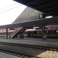 Photo taken at Klagenfurt Hauptbahnhof by Arno P. on 7/28/2013