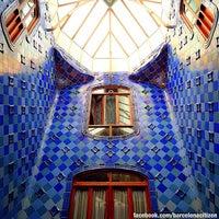 Photo taken at Casa Batlló by BarcelonaCitizen on 7/23/2013