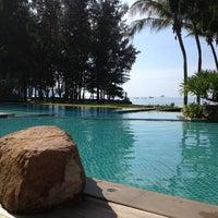 Photo taken at Sheraton Krabi Beach Resort by Dalton N. on 1/10/2013