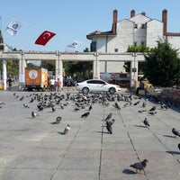 Photo taken at Bakırköy Özgürlük Meydanı by Sibel B. on 7/30/2013
