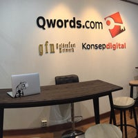 Photo taken at Qwords.com Web Hosting Indonesia - Bandung Office by Rendy M. on 6/16/2016