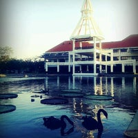 Photo taken at Dome Administrative Building by Sukrid K. on 1/8/2013