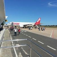 Photo taken at Aeroporto de Teresina / Senador Petrônio Portella (THE) by Leonardo F. on 7/5/2013