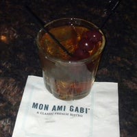Photo taken at Mon Ami Gabi by Tommy H. on 12/14/2012