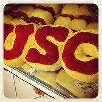 Photo taken at USC Bookstore (BKS) by Nicole I. on 11/10/2012