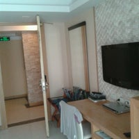 Photo taken at Smart Suites Boutique Hotel by Pietro d. on 5/15/2013