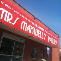 Photo taken at Mrs. Maxwell Bakery by Samantha S. on 7/8/2013