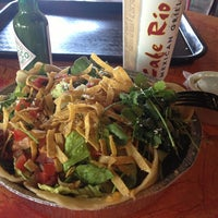 Photo taken at Cafe Rio Mexican Grill by Laura G. on 6/19/2013