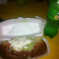 Photo taken at Hot Dogs Mi Líder by Mariam N. on 9/2/2013