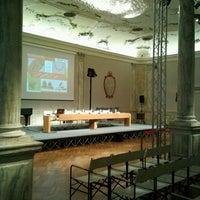 Photo taken at Ca' Giustinian by Roberto B. on 10/4/2013
