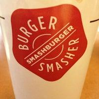 Photo taken at Smashburger by michael g. on 1/1/2013