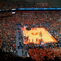 Photo taken at Carrier Dome by Brigid J. on 1/21/2013