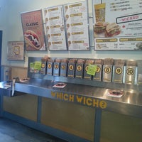Photo taken at Which Wich? Superior Sandwiches by James G. on 5/30/2013
