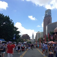 Photo taken at Benjamin Franklin Parkway by Brittany C. on 7/4/2013
