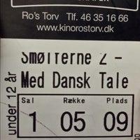 Photo taken at Ro's Torv Kino 123 by Thomas Kjærgaard J. on 9/21/2013