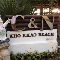Photo taken at C&N Kho Khao Beach Resort by C & N Hotel P. on 3/18/2014