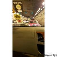 Photo taken at Jalan Tun Razak Tunnel by UmiAbiNini on 1/6/2016