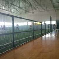 Photo taken at kick off indoor by Pedro E. on 7/27/2013