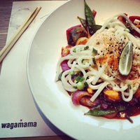 Photo taken at Wagamama by Oren M. on 5/22/2013