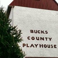 Photo taken at Bucks County Playhouse by Johanna S. on 11/21/2012