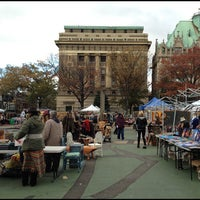 Photo taken at Brooklyn Flea - Fort Greene by Peter S. on 11/3/2012